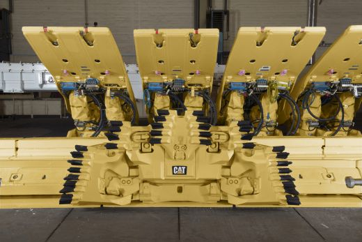 Caterpillar Cat G800B longwall plow system