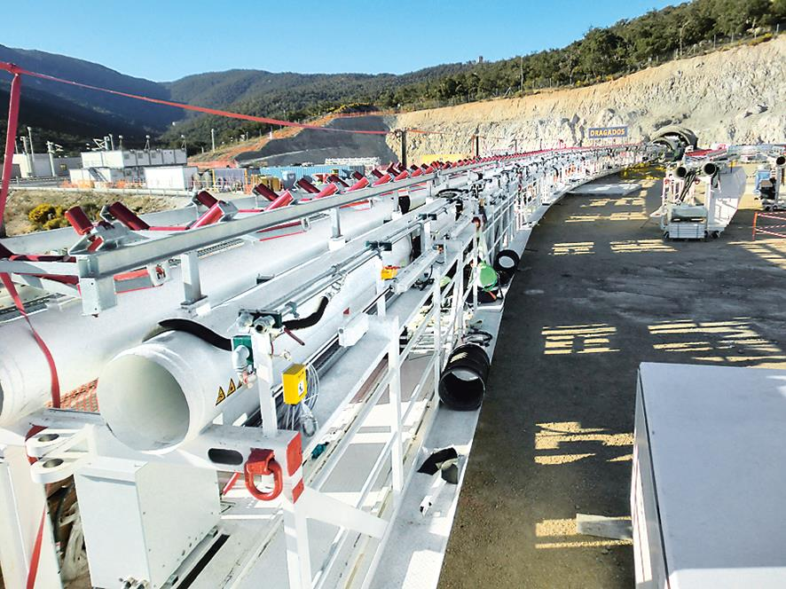 Two high-tech Herrenknecht tunnel boring machines completed an endurance test with bravura during long-distance tunnelling through the Pyrenees