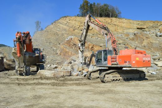 AtlasCopco-Poland-Quarry-Rock-Excavation