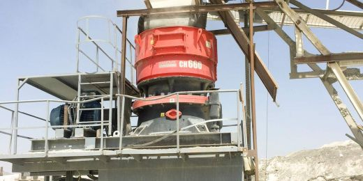 High Performing Sandvik Cone Crusher revolutionizes Production in the UAE in the United Arab Emirates
