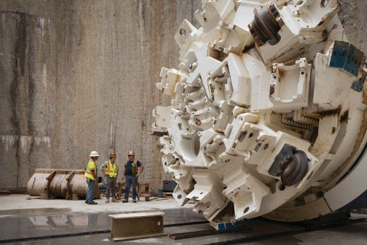 Robbins-Main-Beam-TBM-Hawaii