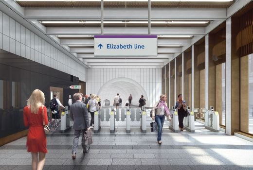 Crossrail_02 Bond Street station - proposed ticket hall on Hanover Square