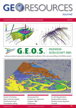 GeoResources - Professional Journal for Resources, Mining, Tunnelling, Geotechnics and Equipment