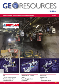 GeoResources - German Journal for Mining, Tunnelling, Geotechnics and Equipment