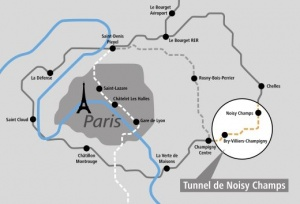 Map: Grand Paris Express in France