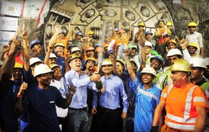 Record-Setting Robbins TBM Breaks Through in Mumbai