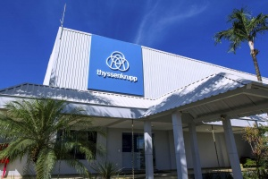 New service center in Carajás (Credit: thyssenkrupp)