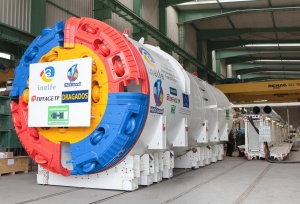 Herrenknecht Tunnel Boring Machines are cutting Tunnels through the Hard Rock of the Pyrenees