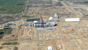 Aerial view of the Legacy construction site in the South of the Canadian province of Saskatchewan. Photo: K+S
