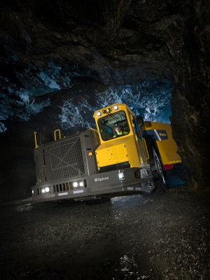 The Minetruck MT65 is part of the order. (Source: Atlas Copco Group)