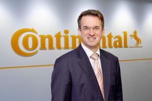 Reinhard Klant is the new Earthmoving product line manager at Continental Commercial Specialty Tires (CST). © Continental AG