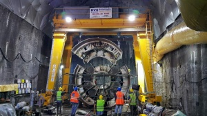 Robbins Crossover TBM completes Turkey's longest Water Tunnel (Photo: Robbins)
