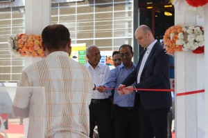 Vadodara foundry First Pour event (Photo: Metso)