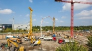 Bauer Spezialtiefbau installs Foundation Piles for new Office and Administration Building in Dortmund