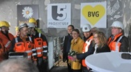 Tunnel Breakthrough in the Heart of the German Capital