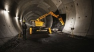 Brokk increases Safety and Productivity in confined Spaces with Shaft and Tunneling Tools