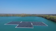 Ciel & Terre in Germany: Floating Solar Plant on a Quarry Lake
