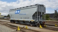First Rail Cars for Legacy in Canada delivered