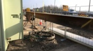 Fugro completes bi-directional Working Pile Load Tests for Triple Deck Roundabout